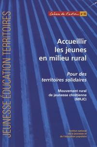 MRJC - Accueillir les jeunes en milieu rural - Pour des territoires solidaires.