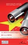 Muchaela Tournay-Tibi et Aurélie Dano - Le défi énergétique de la Chine - Comment la Chine prépare-t-elle son avenir énergétique.