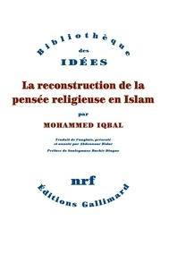 La reconstruction de la pensée religieuse en Islam - Muhammad Iqbal pdf epub
