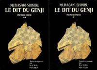 Murasaki Shikibu - Le Dit du Genji - Tomes 1 et 2.