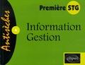 Muriel Beaugendre - Information Gestion 1e STG.