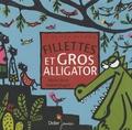 Muriel Bloch et Andrée Prigent - Fillettes et gros alligator.