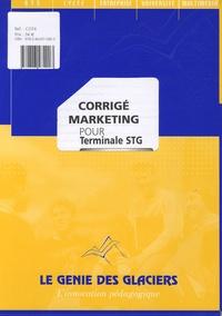 Marketing pour Tle STG- Corrigé - Muriel Demont |