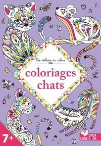 Muriel Douru et Lidia Kostanek - Coloriages chats.
