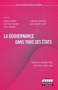 Muriel Dufour et Florence Noguera - La gouvernance dans tous ses états.