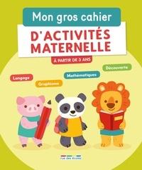 Muriel Ehrmann et Frédérique Grinevald - Mon gros cahier d'activités maternelle.