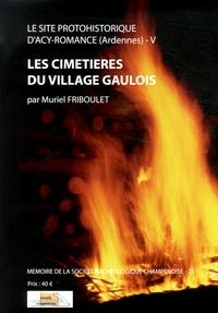Muriel Friboulet - Le site protohistorique d'Acy-Romance (Ardennes) - Tome 5, Les cimetières du village gaulois.