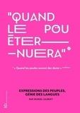 """Muriel Gilbert - """"Quand le pou éternuera""""."""