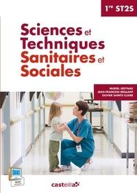 Muriel Jedynak et Jean-François Brillant - Sciences et techniques sanitaires et sociales 1e ST2S.