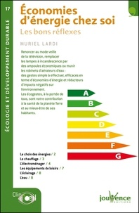 Muriel Lardi - Economies d'énergie chez soi - Les bons réflexes.