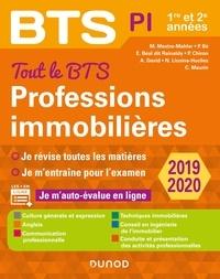 Muriel Mestre-Mahler et Emmanuel Béal dit Rainaldy - Tout le BTS Professions immobilières - 2019-2020 - 1re et 2e années.