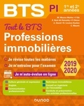 Muriel Mestre-Mahler et Parina Bé - Tout le BTS Professions immobilières - 1re et 2e années.