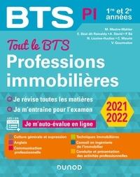 Muriel Mestre-Mahler et Emmanuel Béal dit Rainaldy - Tout le BTS Professions immobilières - 1re et 2e années.
