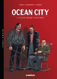Muriel Sevestre et Benoît Springer - Ocean City Tome 2 : Fettucini, migraines et olives noires.
