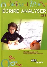 Muriel Strupiechonski - Ecrire, Analyser CE1.