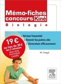 Muriel Vargel et Christine Lopez-Rios - Concours kiné - Pack 2 volumes : Biologie, physique-chimie.
