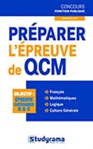 Murielle Dufour et Stéphanie Jaubert - Préparer l'épreuve de QCM.