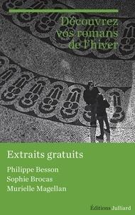 Murielle Magellan et Sophie Brocas - Extraits Rentrée littéraire Julliard janvier 2016.