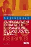 Murielle Paulin - Environnement économique et managérial de l'assurance en 41 fiches pédagogiques BTS Assurance.