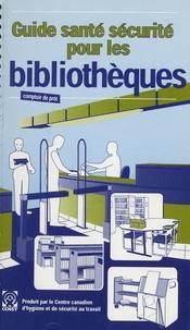 Deedr.fr Guide santé sécurité pour les bibliothèques Image