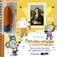 Musée du Louvre et Adèle Combes - Le Louvre - Peins avec de l'eau pour voir apparaître des couleurs ! Avec 1 pinceau.