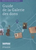 Musée histoire immigration - Guide de la galerie des dons.