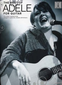 Music Sales - The Best of Adele for Guitar.