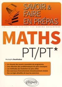 Mustapha Boukhobza - Maths PT/PT*.