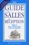 Mutandis - Guide des salles de reception - Tome 1, Paris - Ile de France et départements limitrophes.