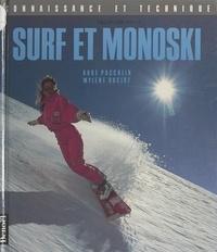 Mylène Ducloz et Aude Paccalin - Surf et monoski.