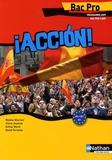 Mylène Ghariani et Claire Jouanne - Espagnol Bac pro Accion ! - Programme 2009.