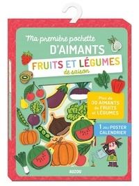 Mylène Rigaudie - Ma première pochette d'aimants fruits et légumes de saison.