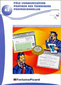 Pôle communication pratique des techniques professionnelles BTS Assistant de direction et Assistant secrétaire trilingue.pdf