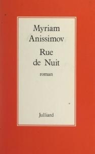 Myriam Anissimov - Rue de nuit.