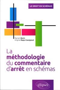 Myriam Bezin et Virginie Rapp-Cassigneul - La méthodologie du commentaire d'arrêt en schémas.