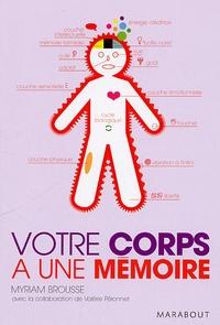 Myriam Brousse - Votre corps à une mémoire.