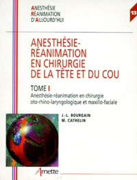 Myriam Cathelin et Jean-Louis Bourgain - .