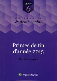 Myriam Dauphin - Primes de fin d'année 2015.