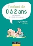 Myriam David - L'enfant de 0 à 2 ans - 7e éd..