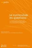 Myriam De Kesel et Jean-Louis Dufays - Le curriculum en questions - La progression et les ruptures des apprentissages disciplinaires de la maternelle à l'université.