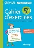 Myriam Dufour - Cahier d'exercices Grevisse 5e.