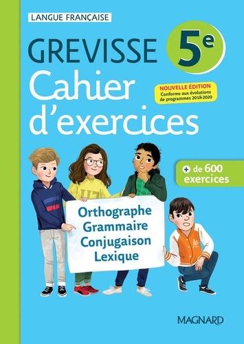 Myriam Dufour et Maud Varbédian - Français 5e Grevisse - Cahier d'exercices.