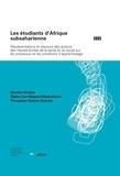 Myriam Graber - Les étudiants d'Afrique subsaharienne Texte imprimé représentations et discours des acteurs des h.