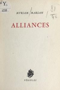 Myriam Marsan - Alliances.