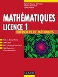 Myriam Maumy-Bertrand et Frédéric Bertrand - Mathématiques licence 1 - Exercices et méthodes.