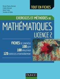 Myriam Maumy-Bertrand et Frédéric Bertrand - Mathématiques Licence 2.