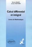 Myriam Maumy et Jacques Vauthier - Calcul différentiel et intégral - Enseignement à distance universitaire européen.