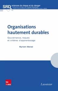 Organisations hautement durables - Gouvernance, risques et critères dapprentissage.pdf