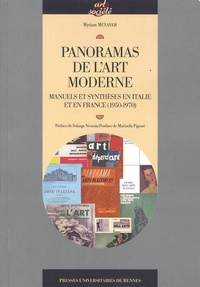 Myriam Metayer - Panoramas de l'art moderne - Manuels et synthèses en Italie et en France (1950-1970).