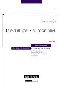 Le fait religieux en droit privé.pdf